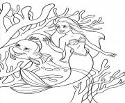 Print brimsby protecting ariel little mermaid s599e coloring pages