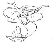 Print the little mermaid disney princess 8981 coloring pages