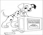 dalmatian craves for cookies b5f1 coloring pages