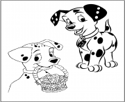Print dalmatians and easter eggs 3e32 coloring pages