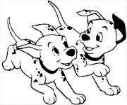 Print running dalmatians 0bac coloring pages