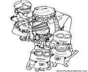 minions the family coloring pages