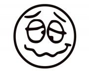 emotion Funny Face4 coloring pages