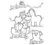 Printable cute free s of animalscd29 coloring pages