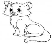 cute baby wolf s18b0 coloring pages