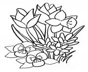 Printable flower s cute1aa5c coloring pages