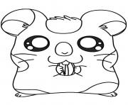 Printable cute oxnard hamtaro s36ae coloring pages