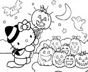 Printable cute halloween s for kids hello kitty0a01 coloring pages