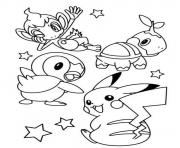 Printable cute pokemon pikachu s0e7f coloring pages