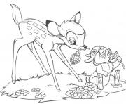 cute bambi sf151 coloring pages