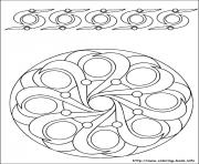 Printable easy simple mandala 48 coloring pages