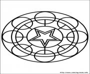Printable easy simple mandala 75 coloring pages