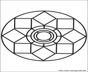 Print easy simple mandala 79 coloring pages