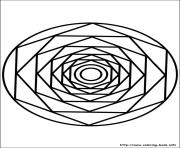 Print easy simple mandala 86 coloring pages