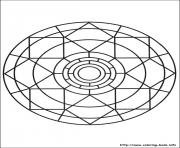 Print simple free mandalas 07 coloring pages