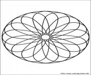 Printable simple free mandalas 13 coloring pages