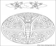 Printable simple free mandalas 41 coloring pages