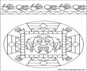Printable easy simple mandala 53 coloring pages