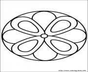 Print easy simple mandala 63 coloring pages