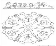 Printable simple free mandalas 40 coloring pages