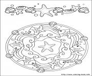 Printable easy simple mandala 55 coloring pages