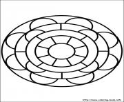 Print easy simple mandala 83 coloring pages