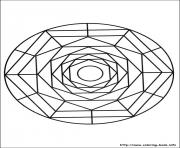 Printable simple free mandalas 19 coloring pages