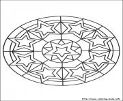 Printable simple free mandalas 27 coloring pages