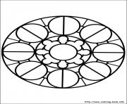 Printable easy simple mandala 80 coloring pages