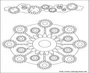 Printable simple free mandalas 45 coloring pages