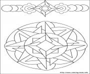 Print easy simple mandala 58 coloring pages