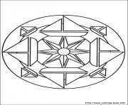 Printable simple free mandalas 23 coloring pages