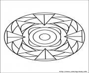 Printable simple free mandalas 24 coloring pages