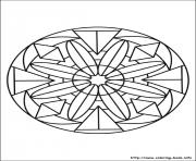 simple free mandalas 28
