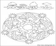 Printable simple free mandalas 34 coloring pages