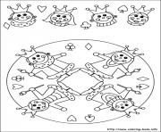Print easy simple mandala 61 coloring pages