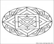 Printable simple free mandalas 14 coloring pages