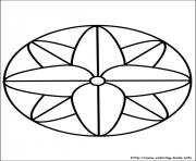 Simple Free Mandalas 17 Coloring Pages Printable