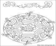 Print simple free mandalas 44 coloring pages