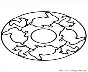 Print easy simple mandala 78 coloring pages