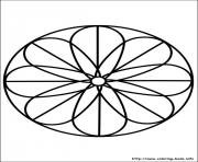 Print easy simple mandala 88 coloring pages