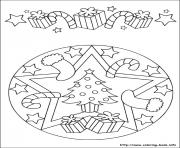 Print easy simple mandala 62 coloring pages