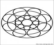 Printable easy simple mandala 87 coloring pages