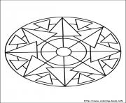 Printable simple free mandalas 26 coloring pages