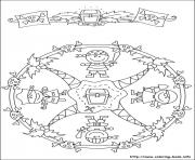 Print simple free mandalas 43 coloring pages