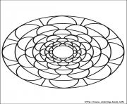 Print simple free mandalas 09 coloring pages