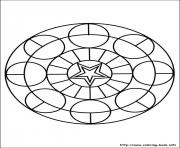 Print simple free mandalas 18 coloring pages