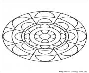 Print simple free mandalas 29 coloring pages