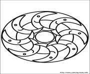 Print easy simple mandala 81 coloring pages