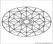 Printable simple free mandalas 03 coloring pages